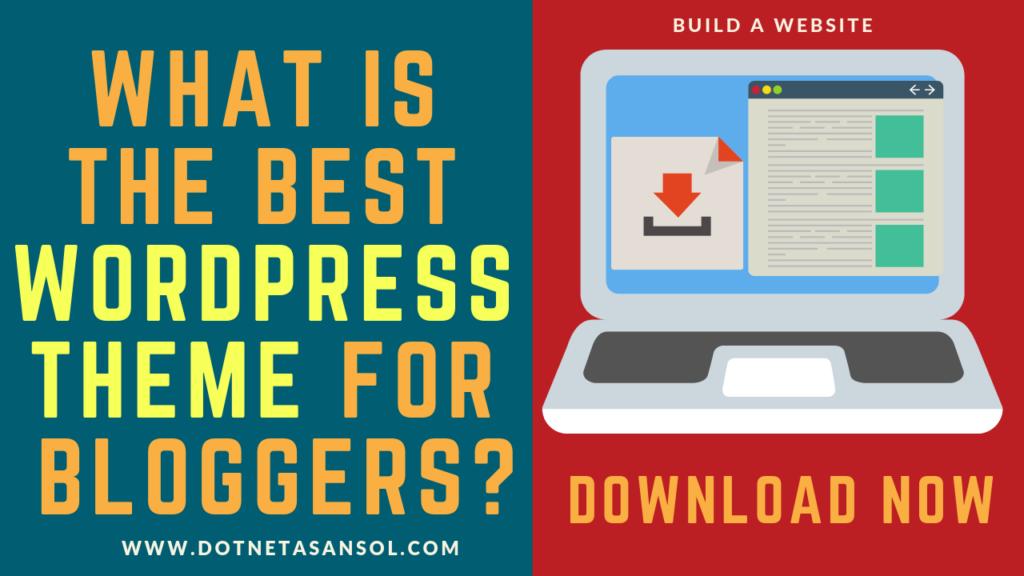 bestwordpressthemeforbloggers